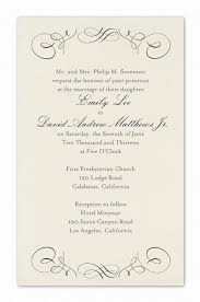 formal invitation wording by colin cowie weddings on invitations and printed materials pi