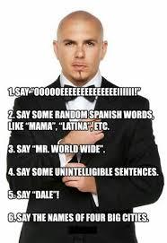 Meme Song - how to write a pitbull song meme guy