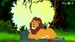 lion telugu animated story animation stories for kids youtube