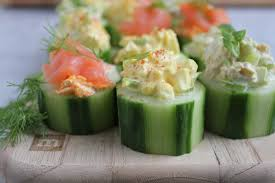 quick and easy cucumber bites three ways u2022 hip foodie mom