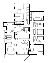 Floor Plan Manual Housing by Housing Prototypes Calle Bach Apartments