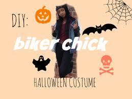 Biker Halloween Costume Diy Easy Biker Halloween Costume