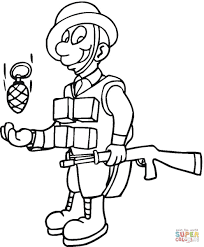 military coloring book soldiers coloring pages free coloring pages