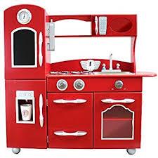 amazon com my little chef teamson kids wooden play kitchen set 1