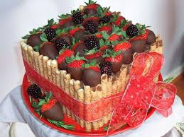 Easy cake decorating ideas and pictures use wafer cookies