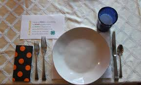 Proper Table Setting by 4 H Cloverbud Lesson Teaching Kids To Set A Table The Pinke Post