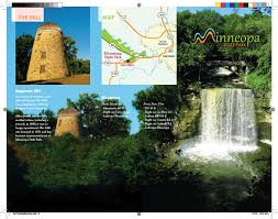 Minneopa State Park Map by Minneopa Park Project By Michael Date At Coroflot Com