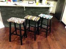 Bar Stool Seat Covers Enchanting Kitchen Chair Seat Covers Or Large Size At Bar Stool