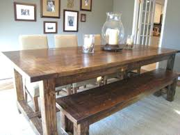 pottery barn farm dining table pottery barn rustic table dining barn farmhouse table distressed