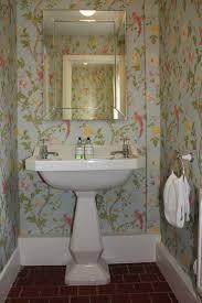 wallpaper for bathroom ideas the 25 best small bathroom wallpaper ideas on powder