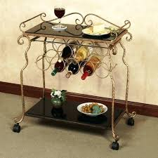 Corner Bakers Rack With Storage Wine Rack Hillsdale Brookside Stone Bakers Rack With Wine