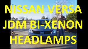 nissan versa yellow warning light how to install new headlamp assemblies on your nissan versa youtube