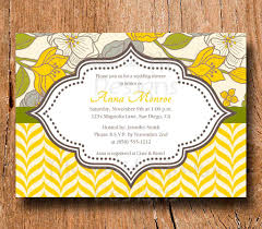 baby brunch invitations impressive with luncheon invitation card and yellow colored