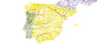 Map Of Europe With Rivers by Rivers Of Europe In National Colours Album On Imgur