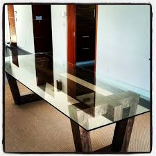 Glass And Wood Dining Tables Dining Table Pedestal Base Only Bases For Glass Tops Intended