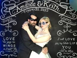 wedding backdrop personalized alfond inn the with amanda and keith chalk shop