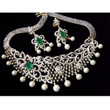 real diamond necklace images Real diamond necklace set at rs 5500000 piece diamond necklace jpg