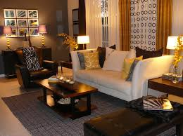 Black And Brown Home Decor Charming Brown And Gold Living Room Ideas Home Interior Design On
