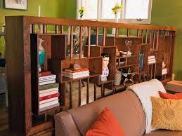 Bookshelf Room Divider Ideas What Are Some Unique Affordable Diy Room Divider Ideas