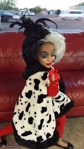 Devil Halloween Costumes Kids Cruella Da Vil Costume Halloween Costume Contest Costume