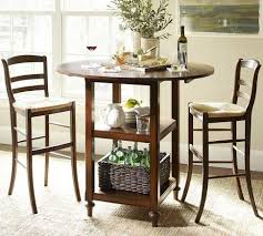 Drop Leaf Bistro Table Drop Leaf Bar Height Table Pottery Barn