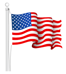 Smerican Flag Transparent American Flag Clipart Clipground