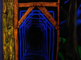 how to use black light paint 54 best black light halloween images on pinterest haunted houses