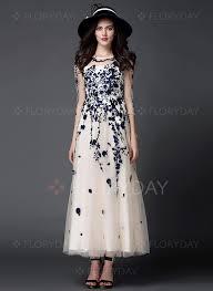 maxi kjoler chiffon blomster 3 4 langt ærme maxi kjoler maxi kjoler chiffon