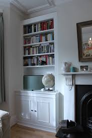 bookcases on either side of tv image yvotube com
