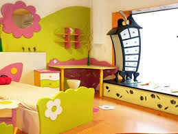 Wall  Cartoon Characters Or Animals Mural Painting For The Kids - Painting for kids rooms