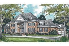 Luxury Colonial House Plans House Plan 3323 00531 Luxury Plan 11 110 Square Feet 4