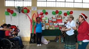 christmas party for special children amigos del peru