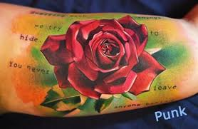 out of concrete rose tattoo pictures to pin on pinterest tattooskid