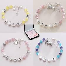 beaded bracelet name images Girl 39 s name bracelet in gift box jewels 4 girls jpg