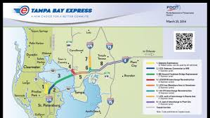 Tampa Bay Florida Map by Tbx Toll Lanes Threatened By Miami Lawmaker U0027s Bill Tampa Bay