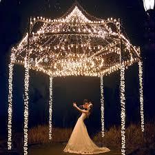 Outdoor Christmas Garland by Aliexpress Com Buy Us Eu Plug Snow Shape Led Light String