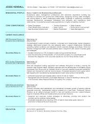 Sample Resume Objectives Business by Business Business Manager Resume