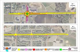 Mn Road Map Pinecone Road Reconstruction Sartell Mn Wsb U0026 Associates