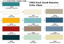 1965 f100 color code t ford truck enthusiasts forums