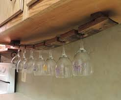 amusing under counter wine rack rack and hanging glass rack diy