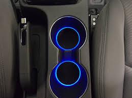Car Interior Blue Lights Led Cup Holder Lights Blue Leds Fits 2011 2015 Hyundai Elantra