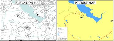 How To Draw A Topographic Map Map Production