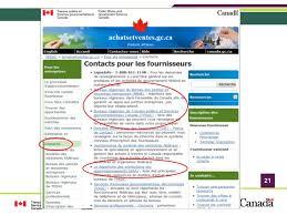 bureau gouvernement du canada comment faire affaire avec le gouvernement du canada