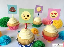 party ideas emoji party ideas and colorful printables