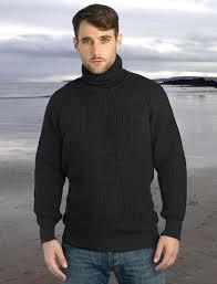 mens turtleneck sweater fisherman s ribbed mens wool turtleneck sweater