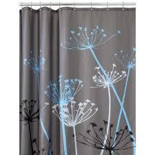 15 awesome bathroom shower curtains design ideas direct divide thistle black bathroom shower curtain design