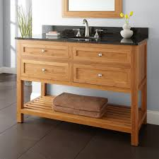 Double Sink Vanities For Bathrooms by Bathroom Bamboo Bathroom Vanity Desigining Home Interior