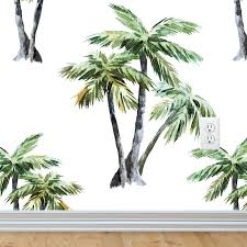 palm trees wallpaper self adhesive u2013 rocky mountain decals
