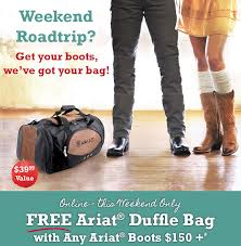 Ariat Boots Boot Barn Bootbarn Com Free Duffle Bag With Ariat Boots 150 Milled