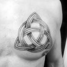100 celtic knot tattoos for men interwoven design ideas